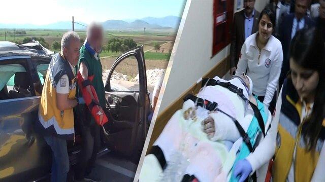 Esat Kabaklı'nın geçirdiği kaza sonrası görüntüler
