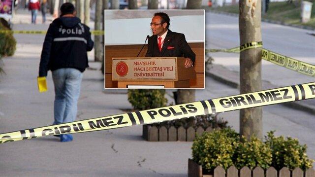 Nevşehir'de meydana gelen olayda Öğretim görevlisi Doç. Dr. Sadettin Baştürk'un cansız bedenine ulaşıldı.