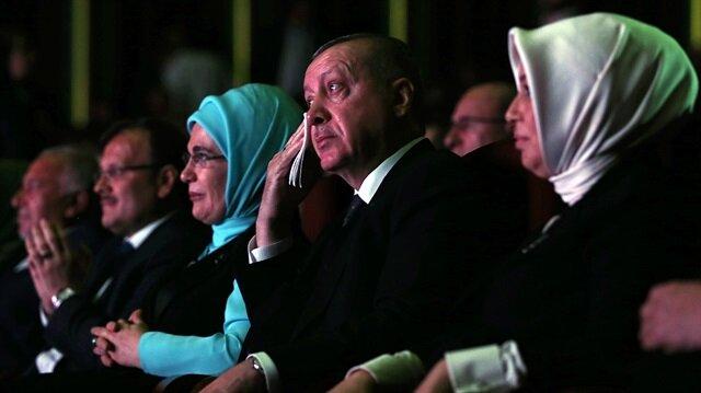 Cumhurbaşkanı Erdoğanı ağlatan Roman belgeseli