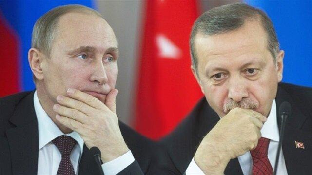 Turkish President Recep Tayyip Erdoğan and his Russian counterpart Vladimir Putin