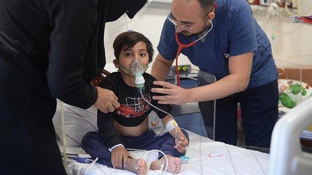 Afrin'in sağlığı Türk hekimlerine emanet