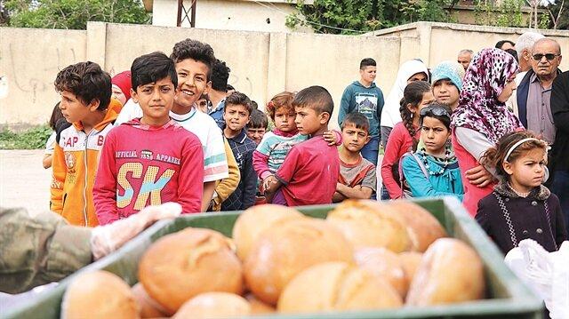 PKK kaçtı yardım bitti