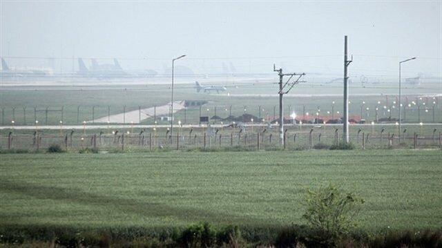 قاعدة إنجرليك العسكرية التركية هذا الصباح