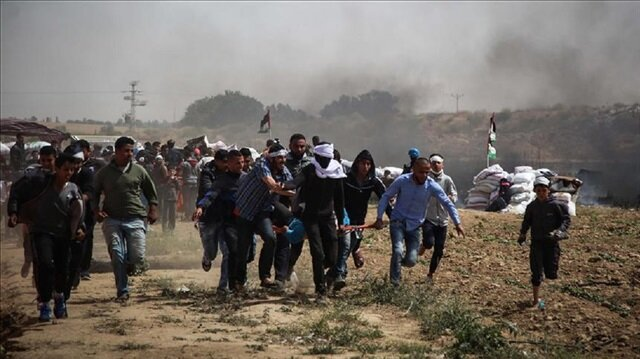 35 martyred over 700 demonstrators injured as Israeli forces use disproportionate force
