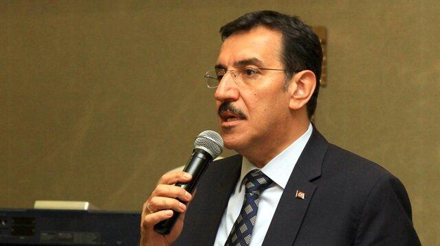 Gümrük ve Ticaret Gümrük Bakanı Bülent Tüfenkci