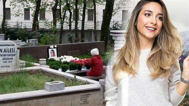 Mina Başaran'ın annesi düğün gününde kızının kabrini ziyaret etti