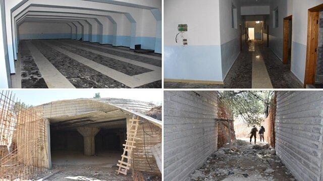 Afrin'de bin teröristi alacak yer altı karargahı bulundu!