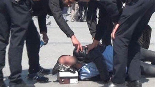 Taksim Meydanı'nda epilepsi krizi geçiren genç paniğe neden oldu