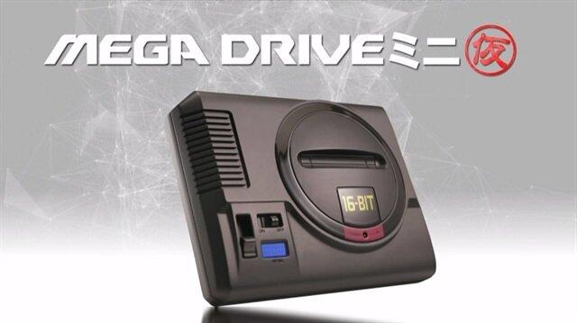 Mega Drive Mini nostaljik çizgileriyle dikkat çekiyor.