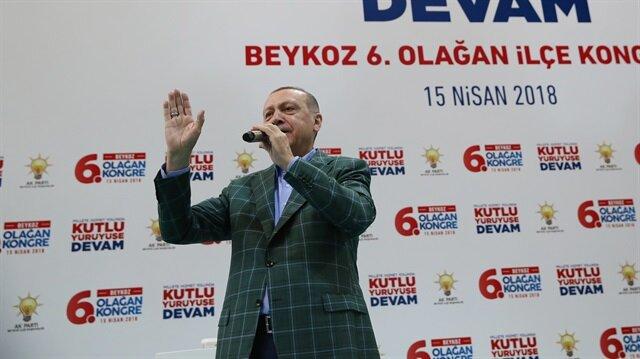Erdoğan: Yeni bir diriliş hareketi başladı