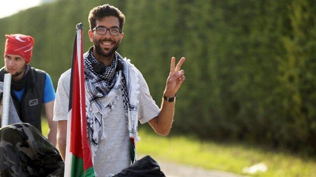 Filistin için İsveç'ten yola çıkan Ladraa Düzce'ye ulaştı