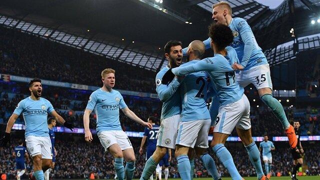 Manchester City, İngiltere'nin en üst düzey futbol liginde 1936-37, 1967-68, 2011-12 ve 2013-14 sezonlarının ardından 5. şampiyonluğunu kazandı.