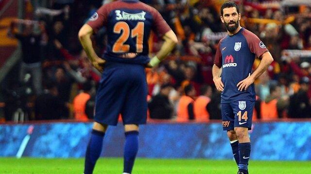 Başakşehirli Arda Turan, Galatasaray'a karşı 65 dakika sahada kaldı.