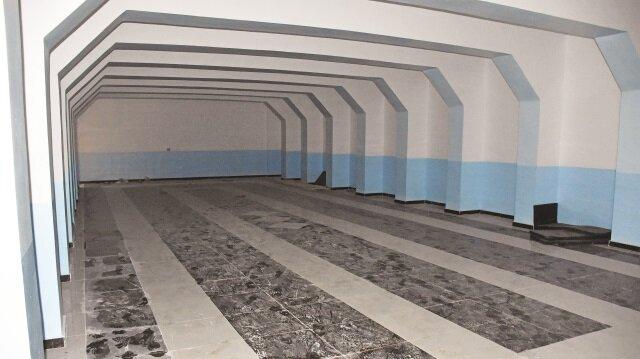 TSK ve ÖSO'nun Afrin'deki aramalarında ilçe kırsalında dev bir yeraltı karargâhı bulundu