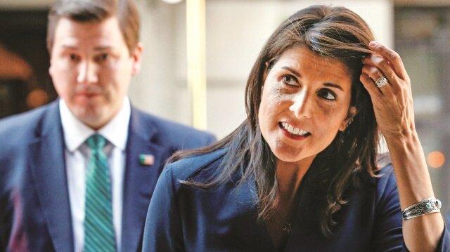 ABD'nin Daimi BM Temsilcisi Nikki Haley
