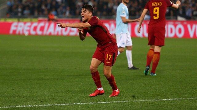Cengiz Ünder, Lazio maçında oyuna sonradan dahil oldu ve etkili oynadı.
