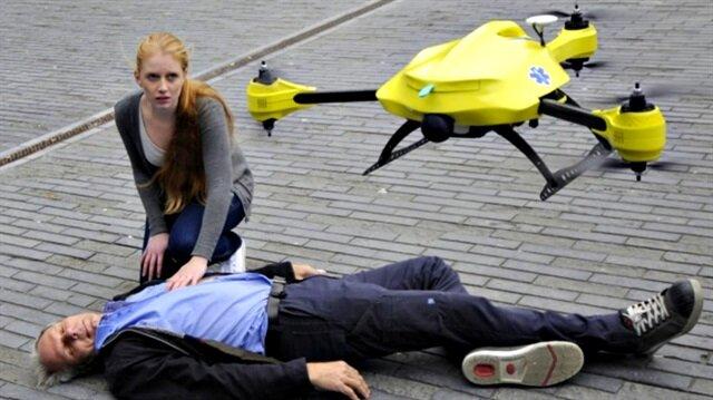 Bu drone can kurtarıyor