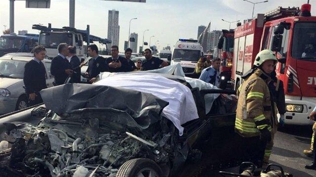 Kartal'da 4 kişinin öldüğü trafik kazasında şoför tutuklandı
