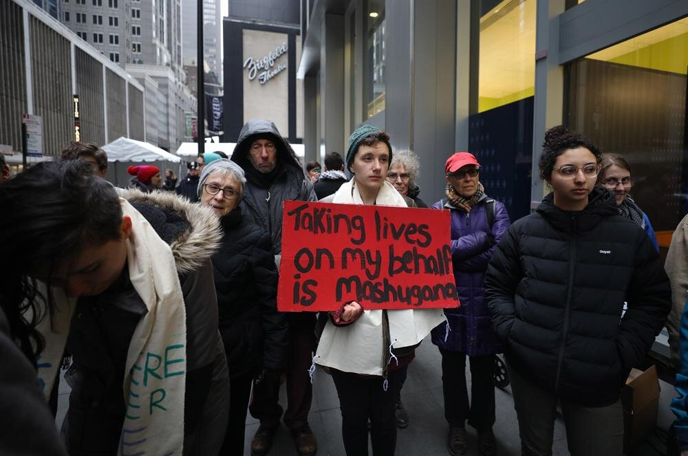 Protestolar ABD'nin New York şehrinde gerçekleşti.