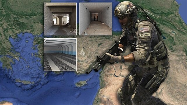 Suriye'de ortaya çıkarılan tüneller Türkiye'ye karşı kullanılacaktı.