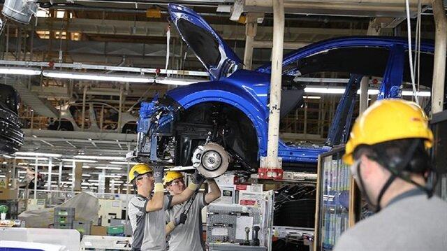 Sanayi üretimi açıklandı.
