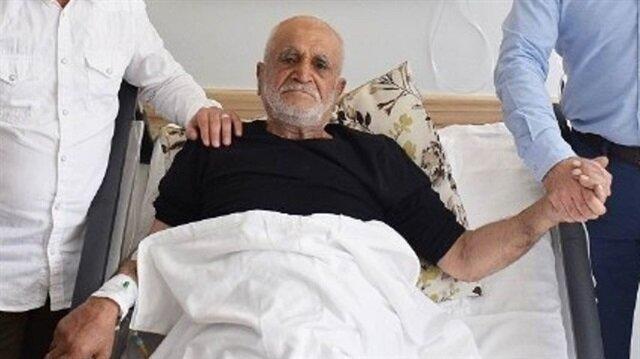 76 yaşında, aynı anda 4 ameliyat geçirdi