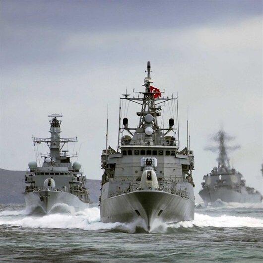 Türkiye'den 14 savaş gemisi ile Yunanistan'a cevap