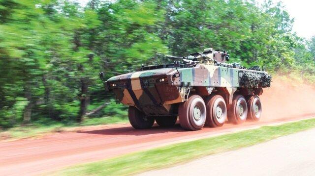257 adetlik 8x8 Tekerlekli Zırhlı Araç Projesi kapsamında teslimatlar sürüyor.