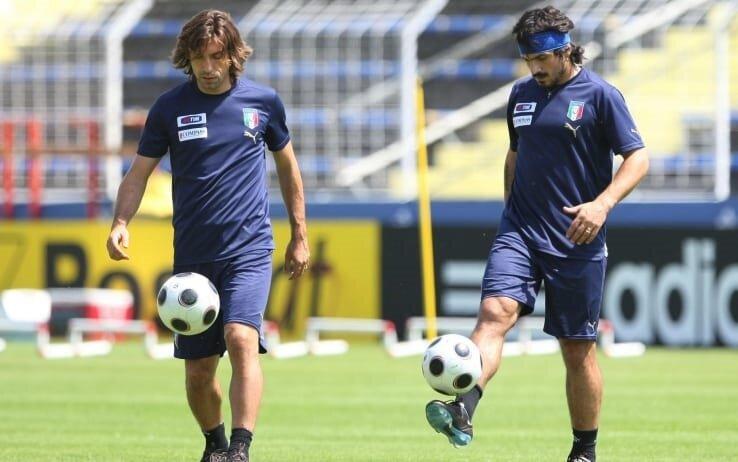 Gattuso ile Pirlo, İtalya Milli Takımı ve Milan'da beraber oynamışlardı.