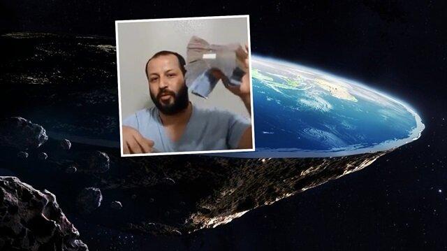 Düz Dünya Derneği Kurucu Başkanı Doğukan Özkan.