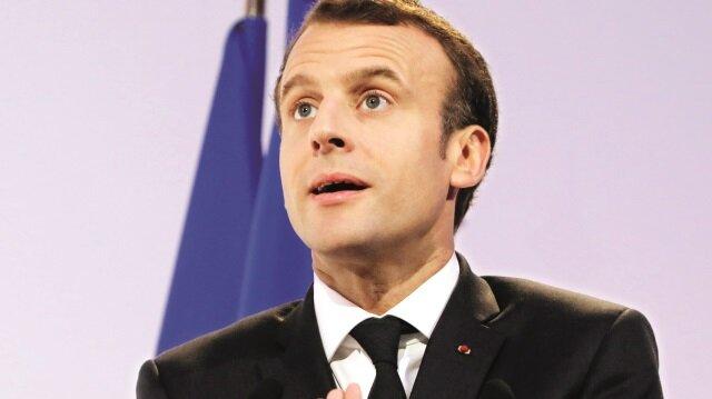 Fransa Cumhurbaşkanı Macron'un derdi belli oldu