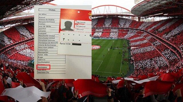 Benfica ile Porto arasında oynanan mücadeleye Türkiye'den sadece Kasımpaşa Kulübü ilgi gösterdi.