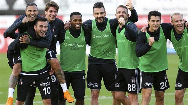 Beşiktaş ligde topladığı 59 puanla 2. sırada yer alıyor.