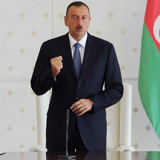 Azerbaycan Cumhurbaşkanı Aliyev yemin etti