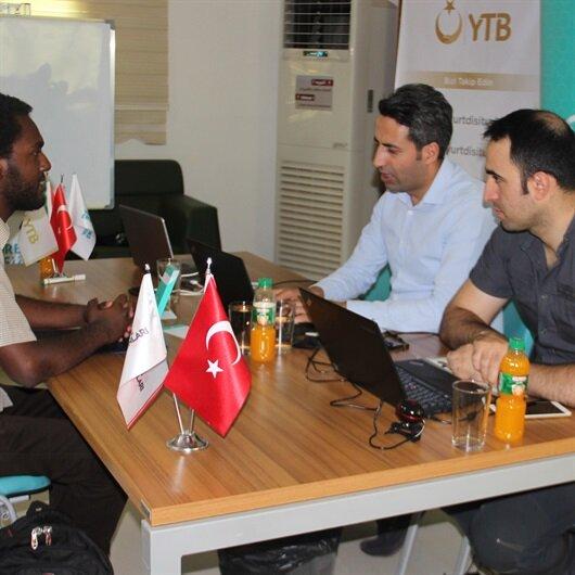 إقبال كبير على المنح الدراسية التركية في السودان