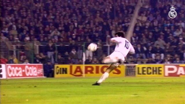 Real Madrid resmi hesabı Hagi'nin 'hat trick'ini paylaştı