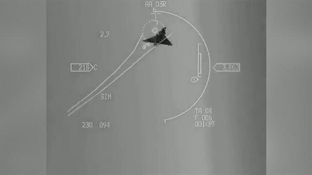 Yunan Mirage 2000 uçağı, Türk F-16'dan böyle kaçtı!