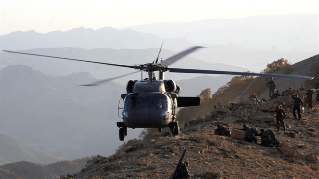 Hakkari'deki PKK'ya ait mühimmat ele geçirildi