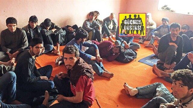 Kaçak mazot yerine göçmen