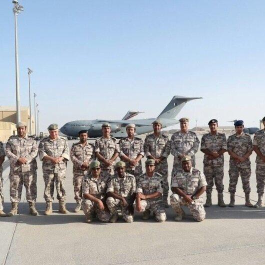 Kriz sonrası bir ilk: Katar Suudi Arabistan'daki askeri tatbikata katıldı