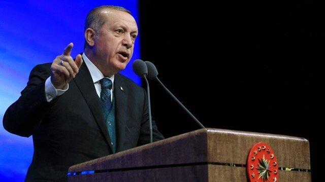 Erdoğan: 4 bin 250 terörist etkisiz hale getirildi