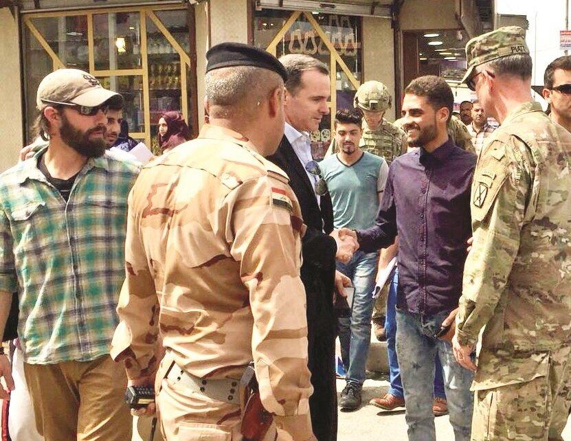 McGurk in Mosul.