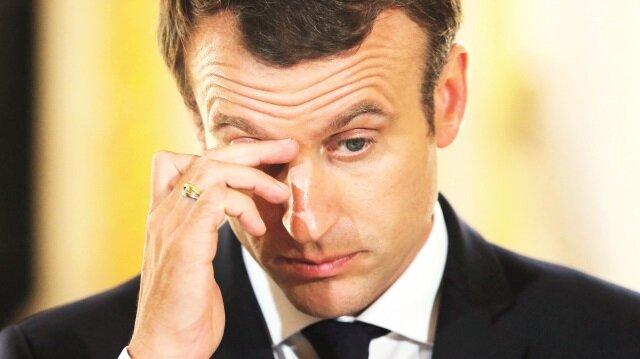 Macron Ege'ye dadandı