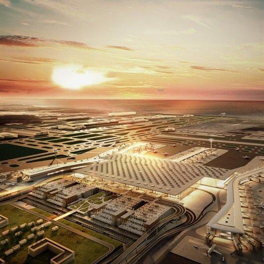 Yeni havalimanında martı ve leyleği ayırt edecek sistem