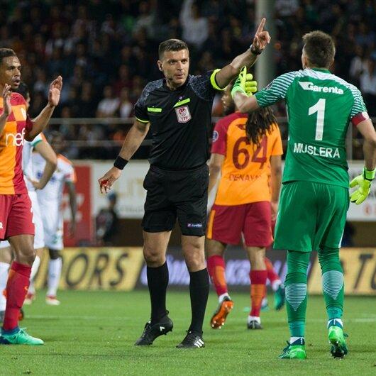 'Galatasaray<br>hakemle kazandı'