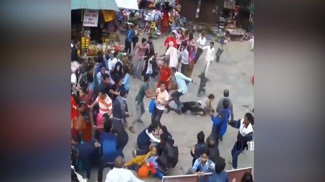 Korkunç deprem görüntüleri!