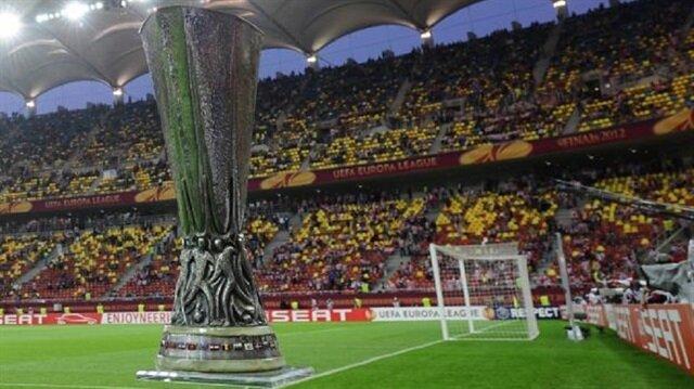 UEFA Avrupa Ligi kupası çalındı
