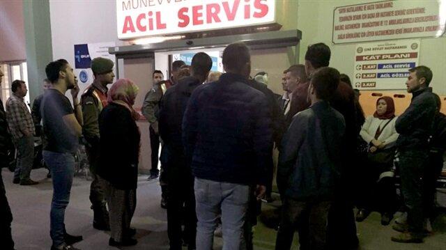 Aydın'daki düğünde çıkan kavgada yaralananlar acil serviste tedavi edildi.