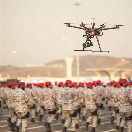 Riyad'da <br>drone paniği