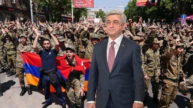 Ermenistan'da Sarkisyan istifa etti